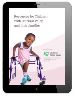 Our in-depth downloadable guide provides 12 pages packed with information on life with cerebral palsy.