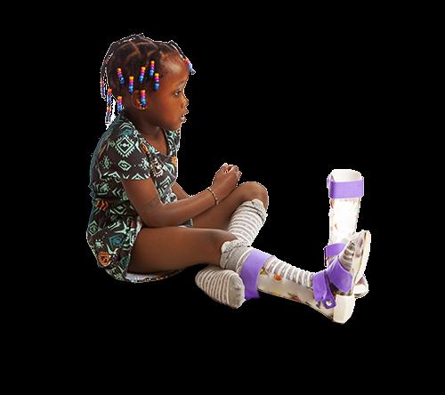 cerebral palsy girl sitting